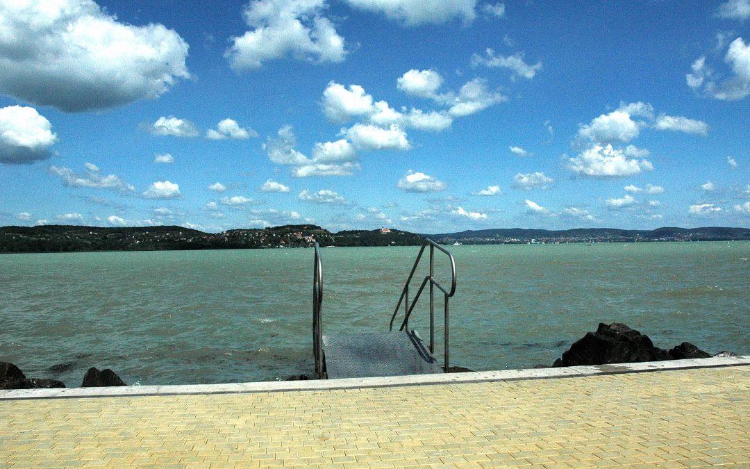 Nyár a Balaton partján